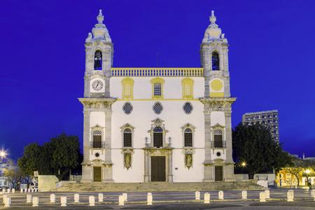 carmo: View of the Church of Carmo, located in Faro, Portugal.