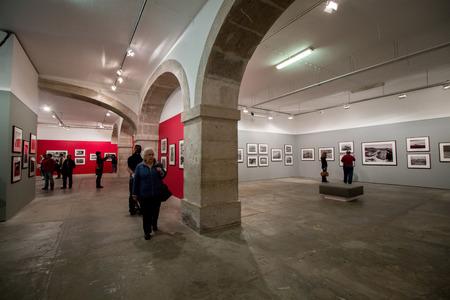 genesis: LISBON - PORTUGAL, MAY 2015: Genesis photography exhibition of Sebastiao Salgado located in Cordoaria Nacional - Lisbon, Portugal