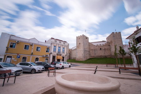 fortification: View of the ancient fortification of the city of Loule, Portugal.
