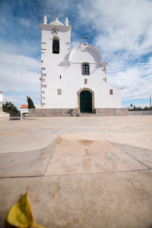 church bell: Typical small church bell tower located in Querenca, Portugal.