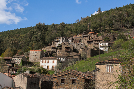 The schist village of Candal located near Lousa, Portugal.
