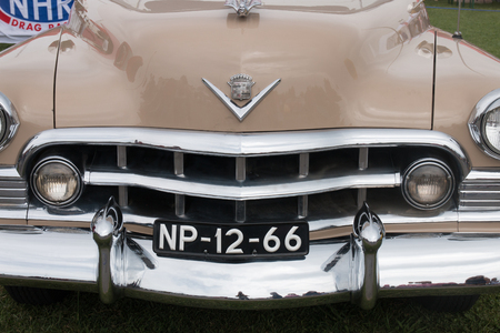 FARO, PORTUGAL, 26th August 2017: 6º American Cars Show Algarve Event where several vintage cars are in display and a mix of Americana related activities happen, including pinup shows, rockabilly concerts and sexy carwash.