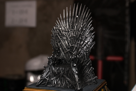 FARO, PORTUGAL - August 19, 2017: Game of Thrones merchandise in the Manga & Comic Event.