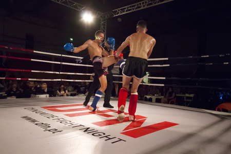 OURIQUE, PORTUGAL - 9th september, 2017 - DFC Championship of kickboxing sports event held on ourique city, Portugal.