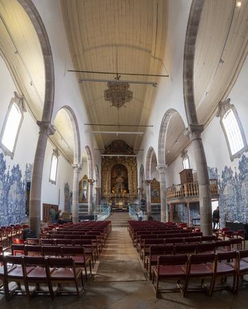 Christian church of Misericordia located in Tavira city, Portugal.