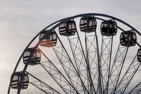 Fun fair event Santa Iria with games, street food, ferry wheels, bumper cars and many diverse activities.