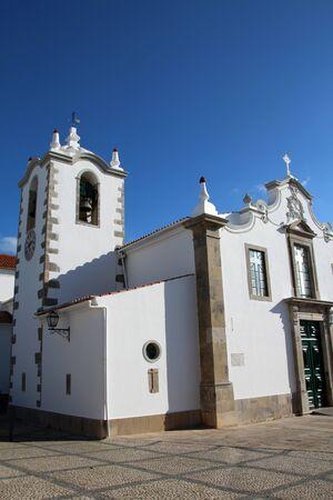 Church of the small town village, Sao Bras de Alportel in Portugal.