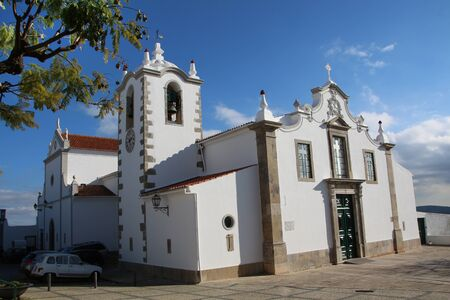 Church of the small town village, Sao Bras de Alportel in Portugal.