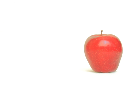 rejections: isolated red apple Stock Photo