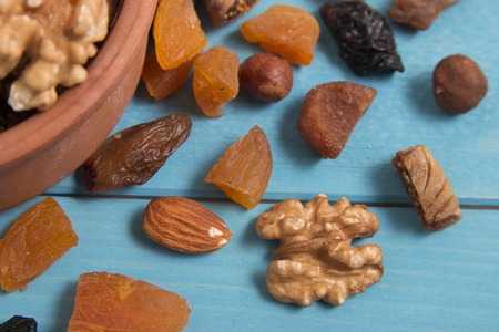 dried fruits: dried fruits Stock Photo