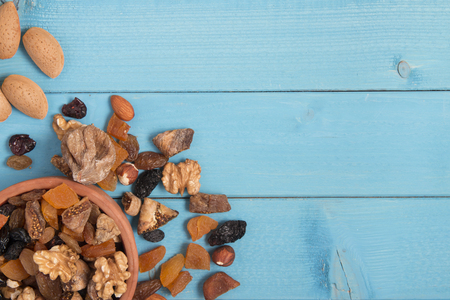 dried fruits: dried fruits background