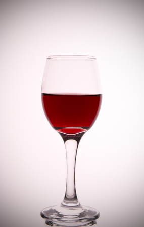 burgundy drink glass: wine glasses Stock Photo