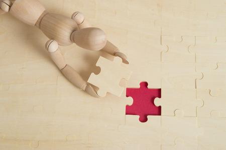 successes: puzzle concept and last puzzle piece