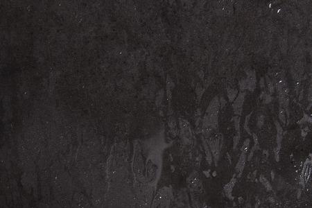 polished floors: wet black background