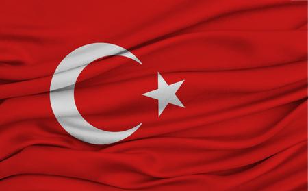 heroism: Waving turkish flag