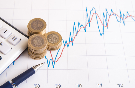 turkish lira: Turkish lira and economy graphic