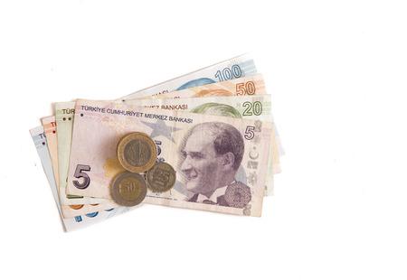 turkish lira: turkish lira and coins