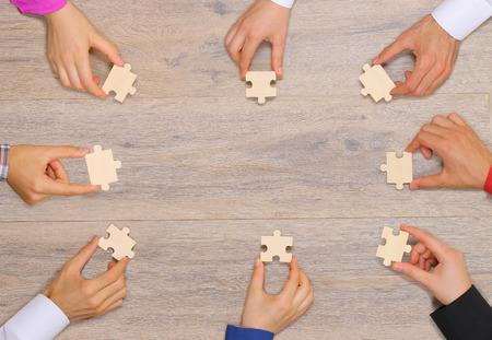 Team combines puzzle piece