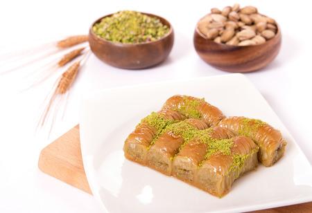 burma baklava with pistachio