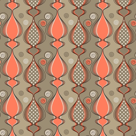 Seamless pattern with stylized cat silhouettes. Easy to use, just click on the swatches to fill your shapes with the pattern.