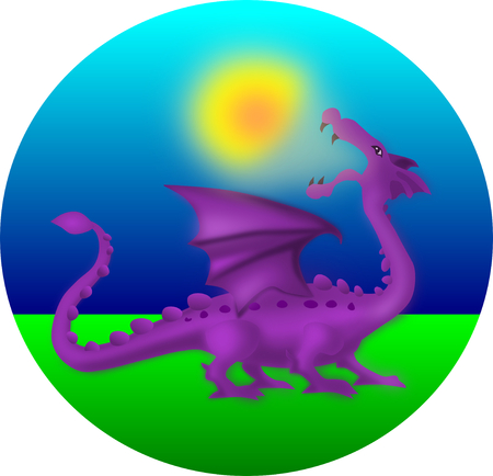 eclipse: Solar eclipse myth - dragon eating the sun