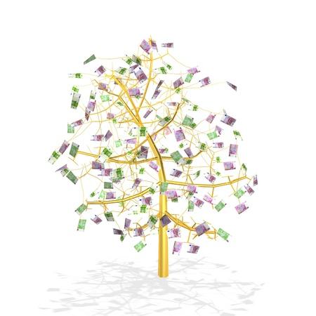 gold money tree Stock Photo - 16385774