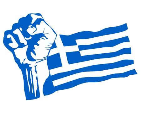 Greek revolution vector Vector