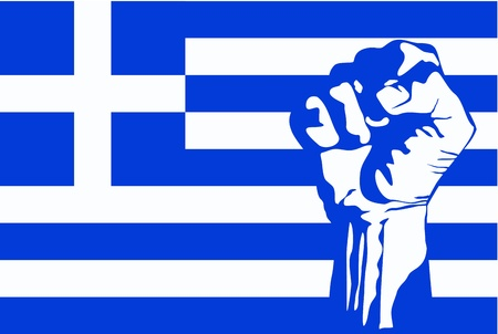 greek revolution vector Vector