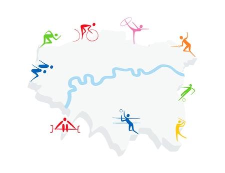 London sports Vector
