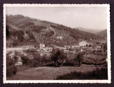 Vintage photograph of Greek countryside c 1950 s   photo