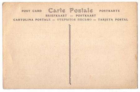 Antique postcard photo