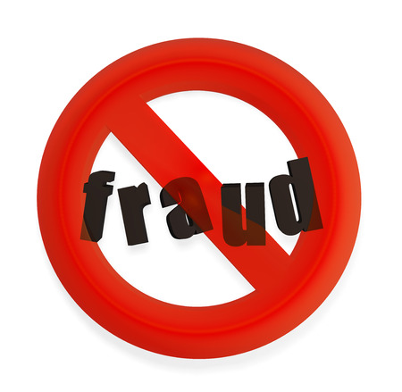 fraud alert symbol photo