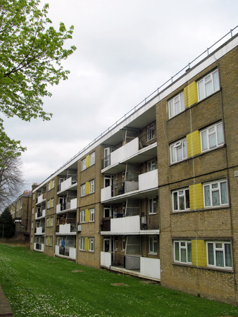 council estate photo