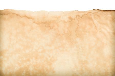 papier vierge: Vieux papier vierge spectacle texture. Banque d'images