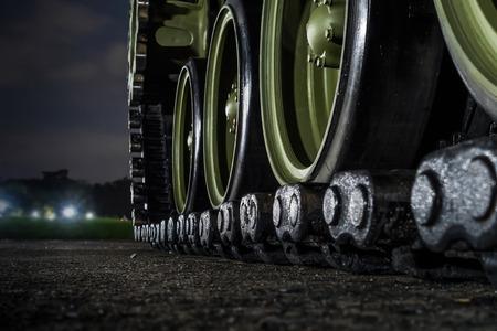 tanque de guerra: El tanque militar.