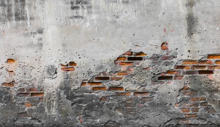 cracked concrete: Old Concrete Background Textured, Retro Style.