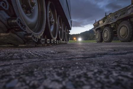 granade: Military Tank.