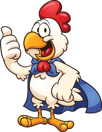 all in: Super mario pollo Vector de im�genes predise�adas ilustraci�n con gradientes simples Todo en una sola capa