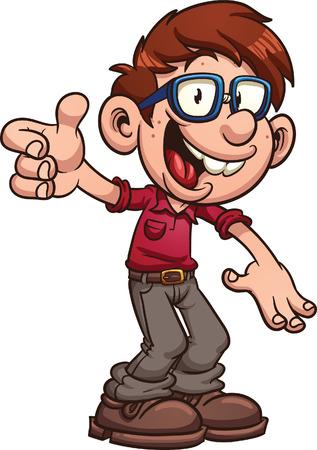 27 934 nerd cliparts stock vector and royalty free nerd illustrations rh 123rf com nerd glasses clipart nerd clipart