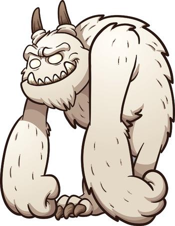 monster: Friendly cartoon monster.