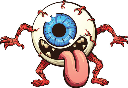 Eyeball monster.