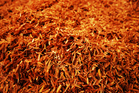 brown: brown rice husk background Stock Photo