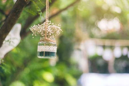 décoration de mariage ia de jardin