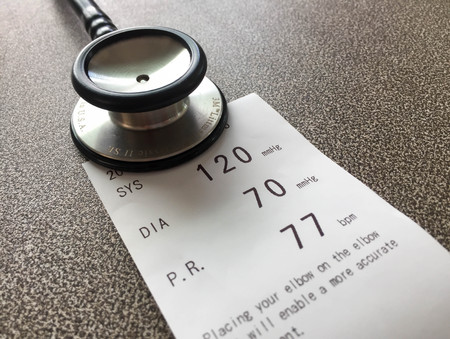 Blood pressure Standard-Bild