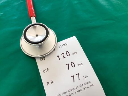 Blood pressure , healthy care Standard-Bild