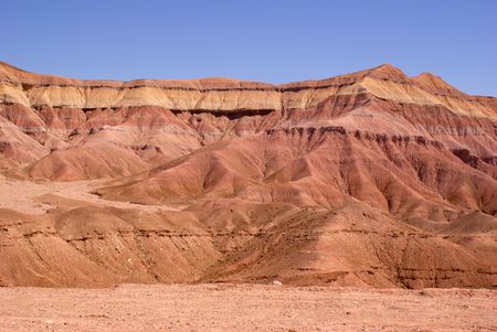 SColorful mountain in the Painted Desert od Arizona, Painted Desert