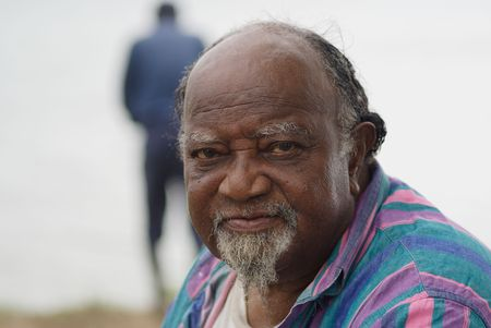 Portrait of an old African American man