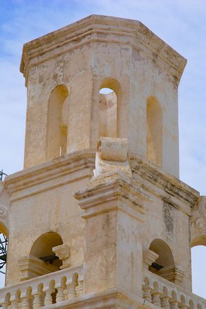 Tower at an old Spanish Mission