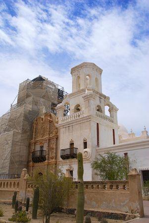 Spanish Mission Reconstruction