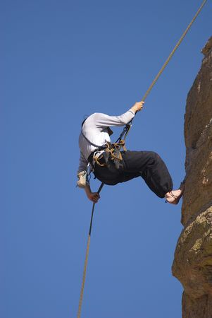 Rock Climbing Stock Photo - 1066002